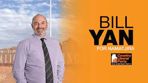 Bill Yan – Member for Namatjira