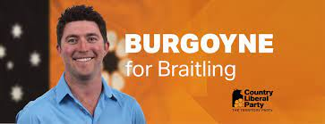 Joshua Burgoyne – Member for Braitling